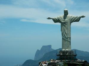 Christ the Redeemer on Corcovado Mountain, Rio De Janeiro, November 2004