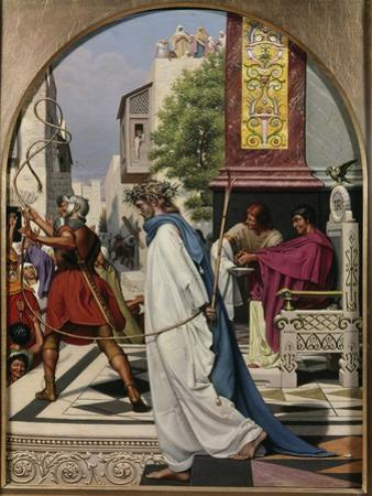 Pilate Delivering Christ to the People by Christen Dalsgaard