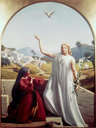 The Annunciation by Christen Dalsgaard