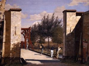 The North Gate of the Citadel, 1834 by Christen Schiellerup Købke