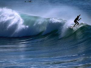 Californian Surfer at Encinitas, California by Christer Fredriksson