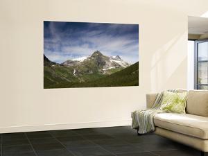 Mountain Peaks from Trollstigen in Summer by Christer Fredriksson