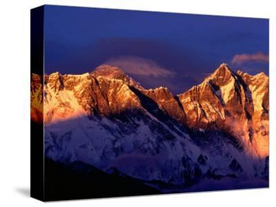 Mt. Everest and Lhotse, Sagarmatha, Nepal