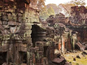 Temple Ruin at Preah Khan by Christer Fredriksson