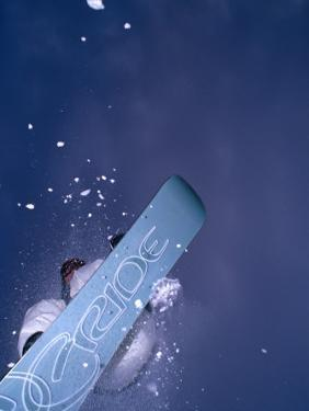 Snowboarder in the Air, Salen, Dalarna, Sweden by Christian Aslund