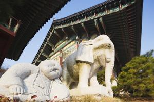 Bongeun-Sa Temple, Seoul, South Korea, Asia by Christian