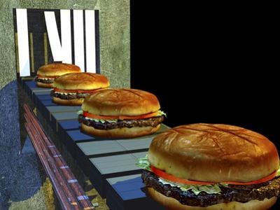 Burger Factory, Artwork by Christian Darkin