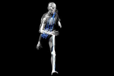 Cyborg Running by Christian Darkin