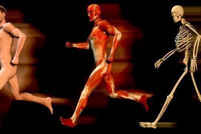 Running Man by Christian Darkin