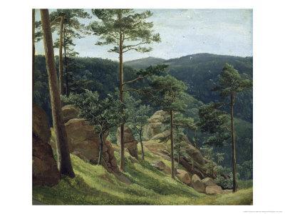 View of Mount Brocken, 1829