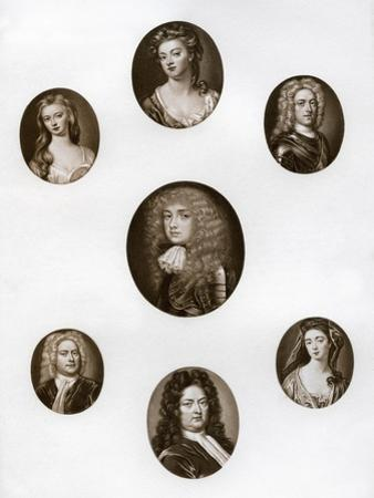 Group of Portraits, Late 17th - Early 18th Century