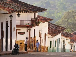 Colonial Town of Barichara, Colombia, South America by Christian Heeb