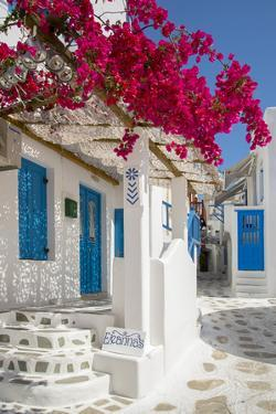 Europe, Greece, Cyklades, Mykonos, Part of the Cyclades Island Group in the Aegean Sea by Christian Heeb