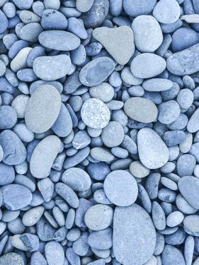 Rocks and Pebbles at Rialto Beach, Olympic National Park, Clallam County, Washington, USA by Christian Heeb