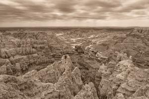 Stronghold, Badlands National Park, South Dakota, Usa by Christian Heeb