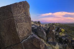 Three Rivers Petroglyph Site, Blm, New Mexico, Usa by Christian Heeb