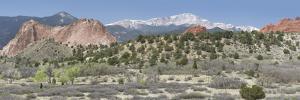 Usa, Colorado, Rockies, Rocky Mountains, Colorado Springs by Christian Heeb