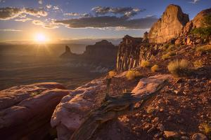 Usa, Southwest,Colorado Plateau, Utah, Canyonland National Park, Island in the Sky by Christian Heeb
