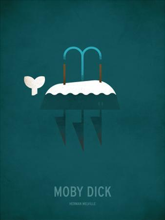 Moby Dick Minimal by Christian Jackson