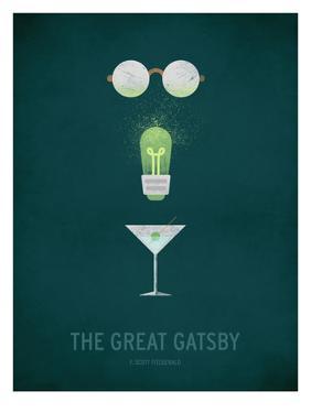 The Great Gatsby Minimal by Christian Jackson