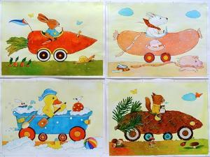 Animal Cars by Christian Kaempf