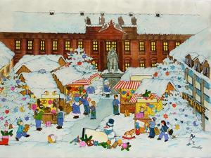 Christmas Market by Christian Kaempf