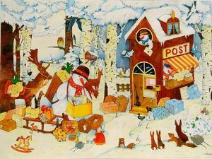 Christmas Office by Christian Kaempf