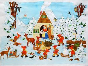Snow White and the Seven Dwarfs by Christian Kaempf