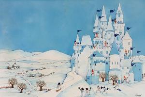 Snowman Castle, 1997 by Christian Kaempf
