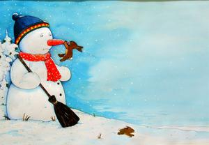 Snowman Dream by Christian Kaempf