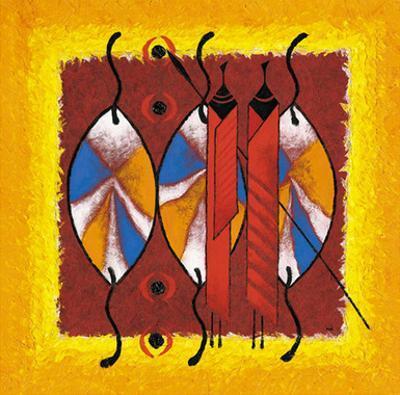 Massai Bouclier by Christian Keramidas