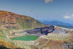 Aerial view of Mount Zao San, Yamagata Prefecture, Honshu, Japan by Christian Kober