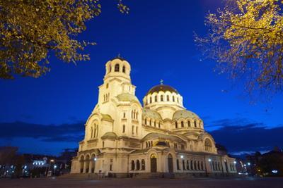 Aleksander Nevski Memorial Church, Sofia, Bulgaria, Europe by Christian Kober