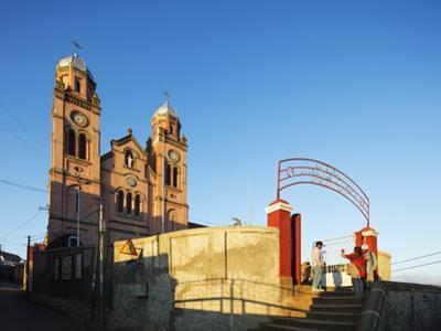 Ambozontany Cathedral, Fianarantsoa Haute Ville, old town, central area, Madagascar, Africa by Christian Kober
