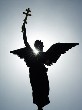 Angel Figure Independence Monument, Tallinn, Estonia by Christian Kober