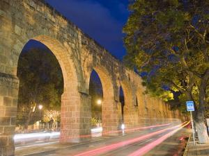 Aqueduct, Morelia, Michoacan State, Mexico, North America by Christian Kober