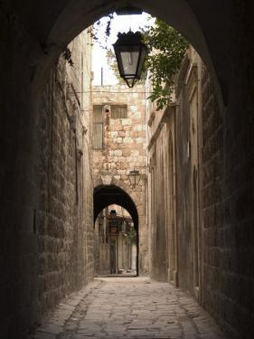 Arched Streets of Old Town Al-Jdeida, Aleppo (Haleb), Syria, Middle East by Christian Kober
