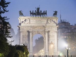 Arco Della Pace, Milan, Lombardy, Italy, Europe by Christian Kober