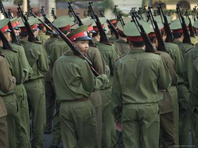 Army Parade, Ho Chi Minh City (Saigon), Vietnam, Southeast Asia