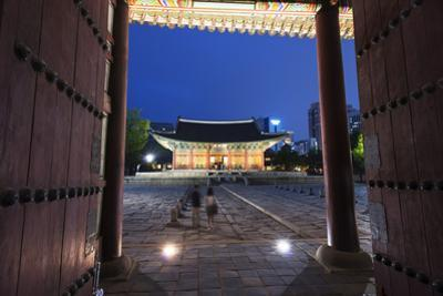 Asia, Republic of Korea, South Korea, Seoul, Deoksugung Palace by Christian Kober