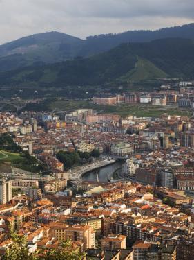 Bilbao River (Ria De Bilbao), Bilbao, Basque Country, Euskadi, Spain by Christian Kober