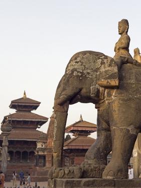 Bishwanath Mandir, Durbar Square, UNESCO World Heritage Site, Patan, Kathmandu Valley, Nepal, Asia by Christian Kober