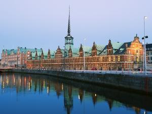 Borsen, Former Stock Exchange Built in 1619, Copenhagen, Denmark, Scandinavia, Europe by Christian Kober