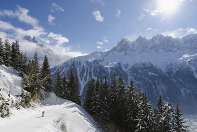 Brevant Ski Area, Aiguilles De Chamonix, Chamonix, Haute-Savoie, French Alps, France, Europe by Christian Kober
