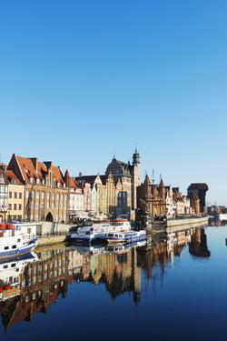 Canal Side Houses, Gdansk, Poland, Europe by Christian Kober