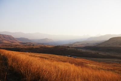 Cathedral Peak Nature Reserve, Drakensburg, Kwazulu-Natal, South Africa, Africa by Christian Kober