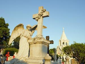 Cemetery, San Salvador, El Salvador, Central America by Christian Kober