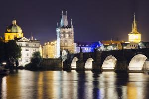 Charles Bridge and Mala Strana Bridge Tower by Christian Kober