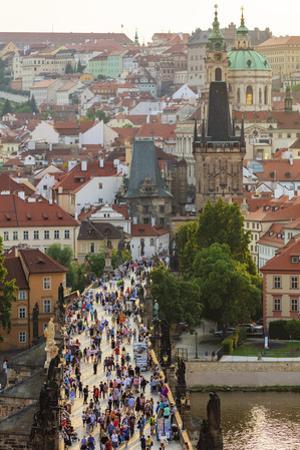 Charles Bridge, Prague, Bohemia, Czech Republic by Christian Kober