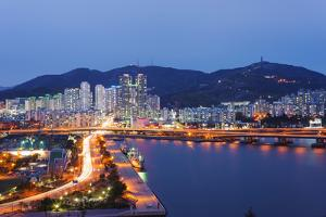 City Skyline, Busan, South Korea, Asia by Christian Kober